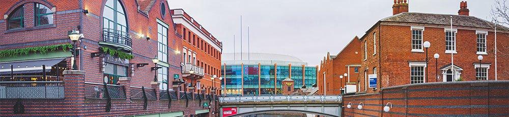 Brindley Place, Birmingham, UK